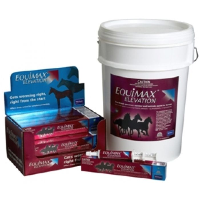 Equimax Elevation wormer for young horses
