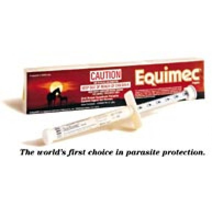 Equimec Paste controls roundworms, bots and summer sores.