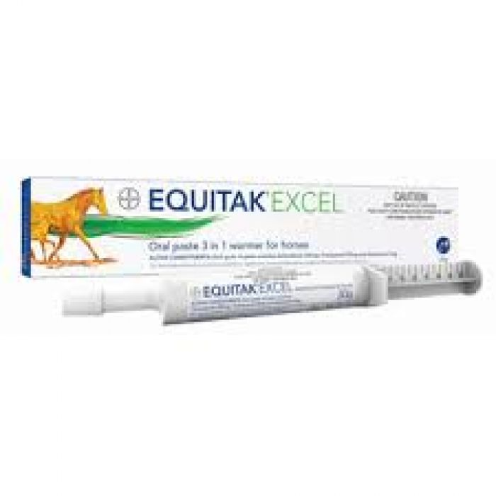 Horse wormers - Equitak Excel 3 in 1 horse wormer