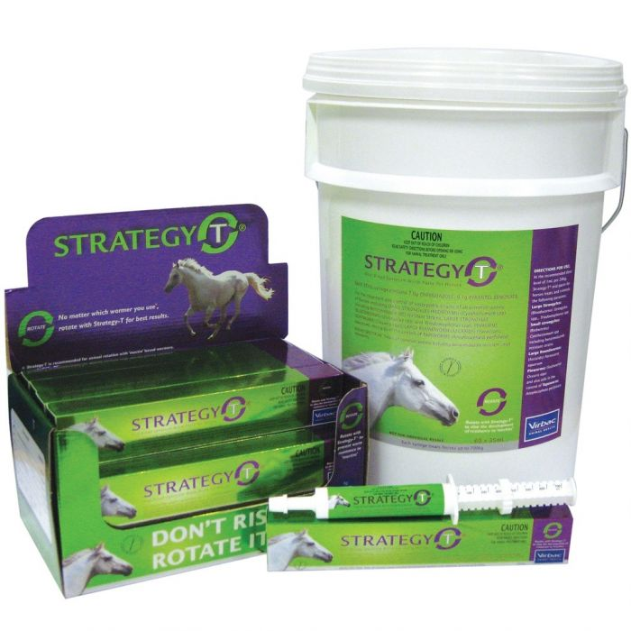Strategy T Horse Wormers by Virbac